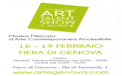 Contemporary ART TALENT SHOW - 19 febbraio - Genova